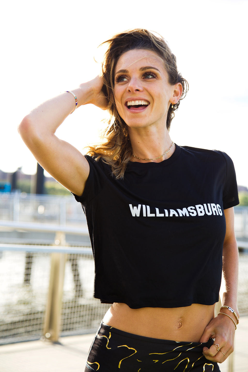 Williamsburg Crop Tee