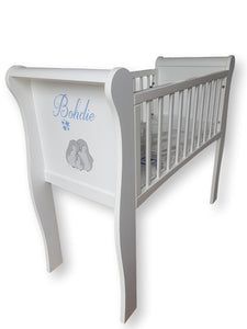 Twinkle Sleigh Crib - The Twinkle Toy Box Company