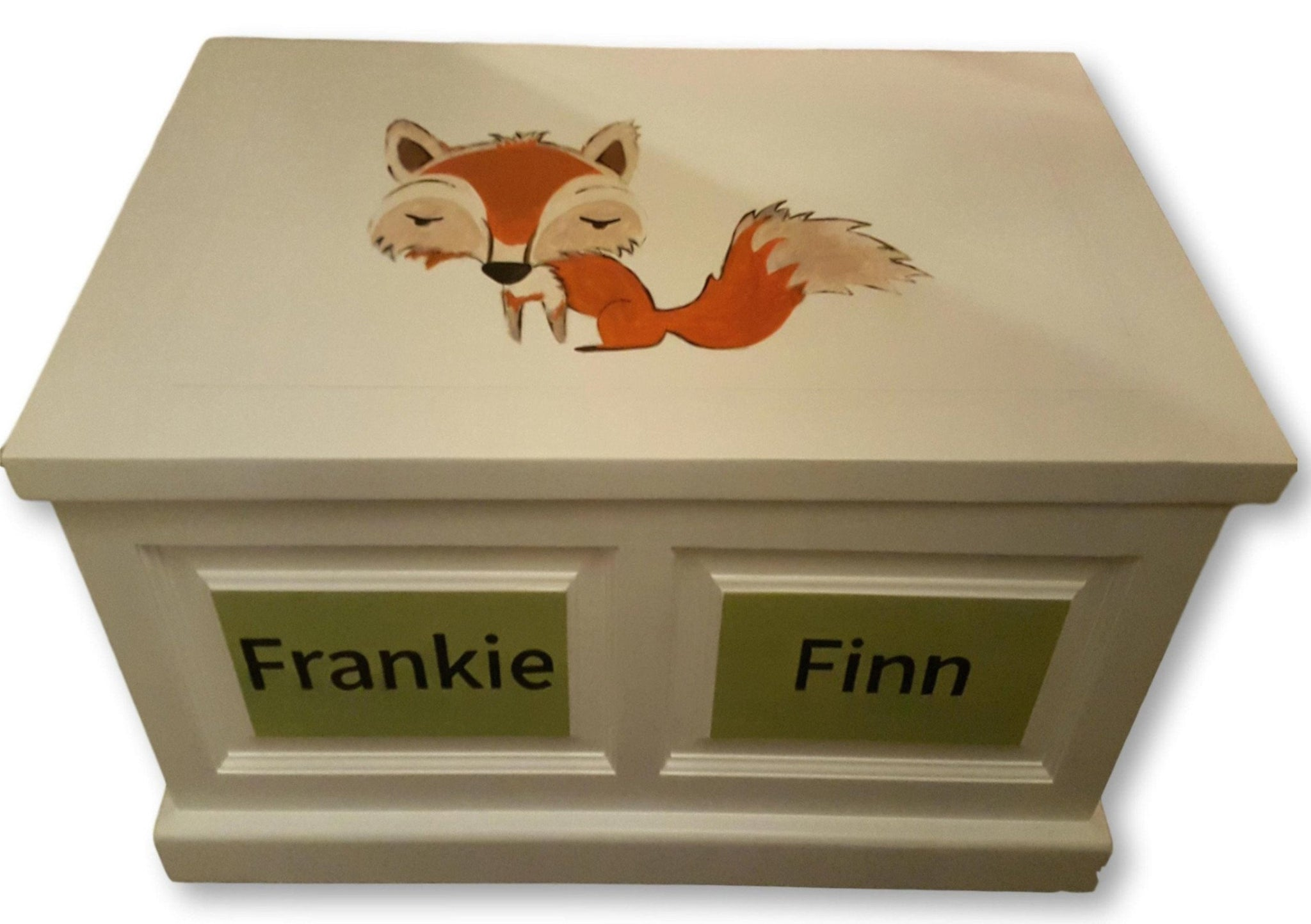 personalised wooden toy box | the twinkle toy box company