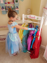 Dressing Up Rail and Shoe Rack - The Twinkle Toy Box Company