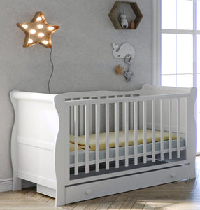 Twinkle Sleigh Cot Bed & Storage Drawer - The Twinkle Toy Box Company