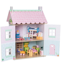 Sweetheart Cottage Dolls House - The Twinkle Toy Box Company
