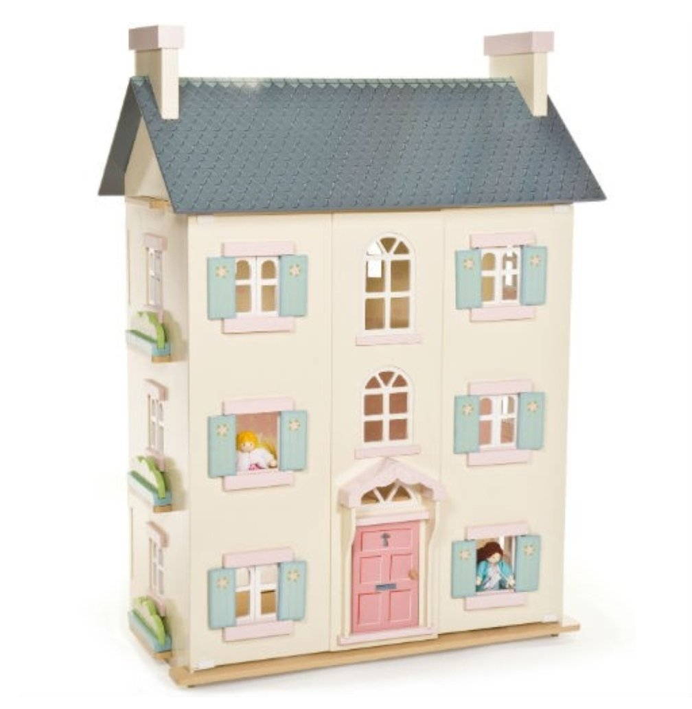 Cherry Tree Hall Dolls House - The Twinkle Toy Box Company