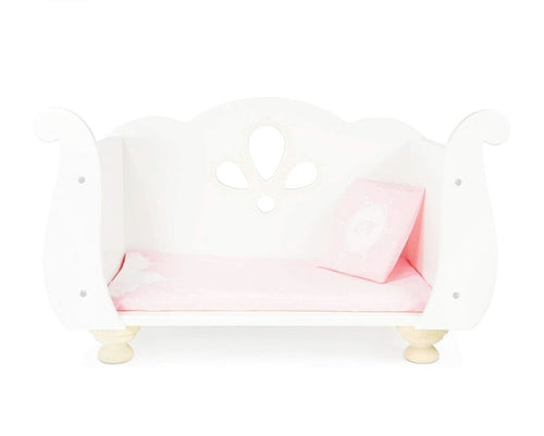 Sleigh Top Doll Cot - The Twinkle Toy Box Company