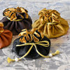 Marisa D'Amico® Silk Drawstring Jewelry Pouches