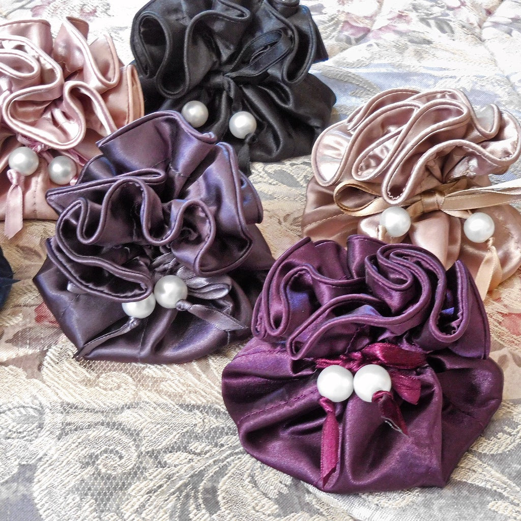 Marisa D'Amico® Satin Drawstring Jewelry Pouches