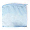 Coin Purse & Pouch, Satin Fabric, Light Blue