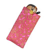 Cotton Soft Eyeglass Case, Fuchsia Pink