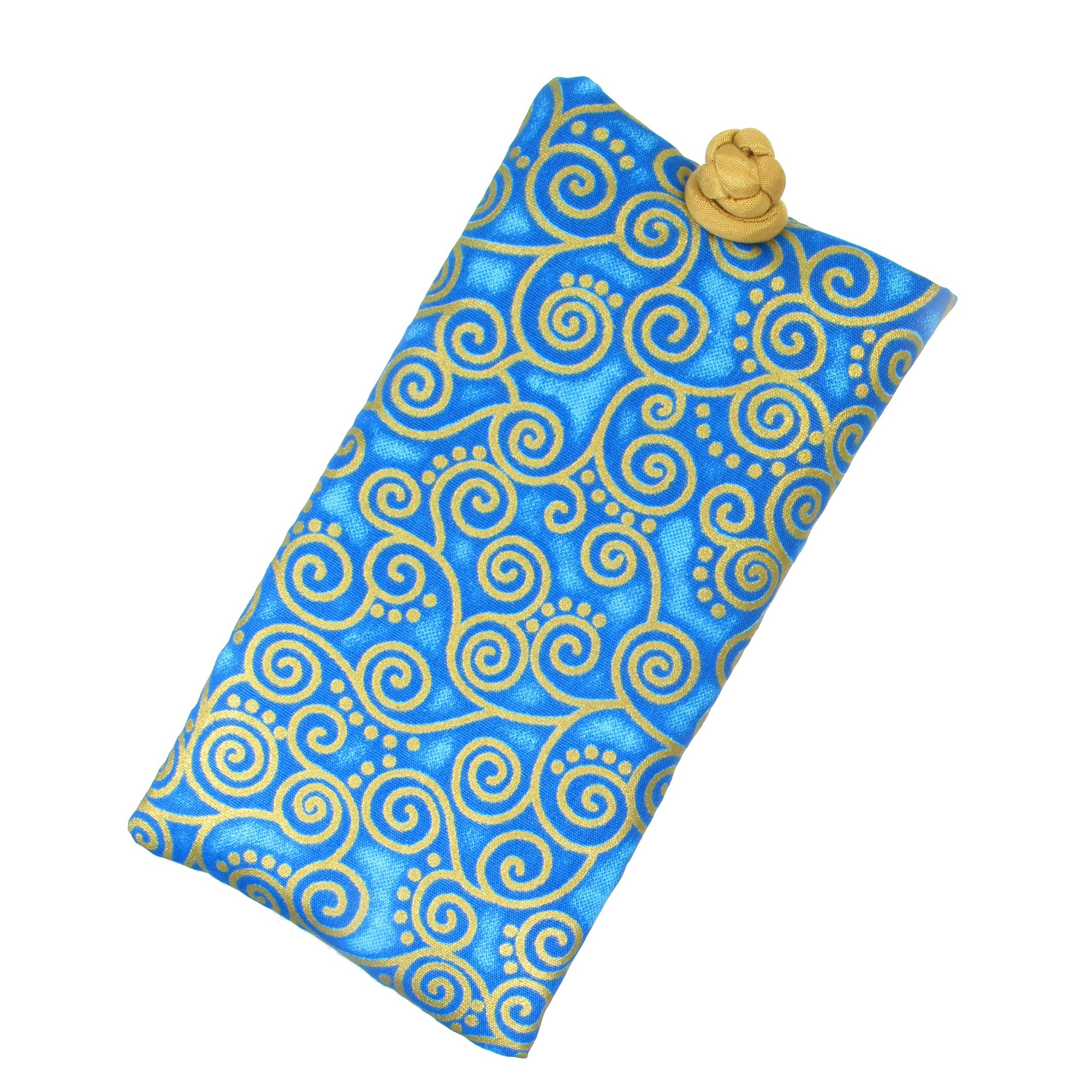 Cotton Soft Eyeglass Case, Turquoise