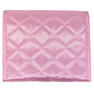 Quilted Satin Sanitary Pad Pouch
