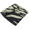 Sanitary Napkin (Sanitary Pad) Case (Bag, Pouch, Holder), Cotton Fabric, Small, Zebra Print