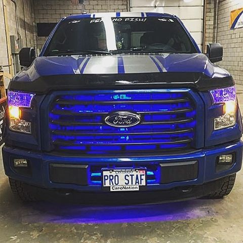 Image of Profile Pixel: Grille Glow (RGB) - F-150 Addicts