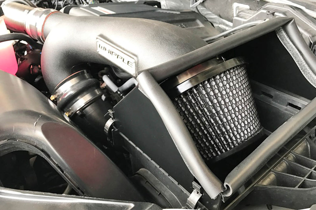 2015-2016 Ford F-150 Whipple Cold Air Intake - F-150 Addicts