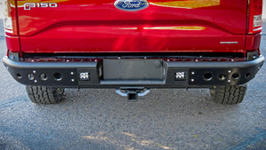 2015-2018 Ford F-150 Venom Rear Bumper w/ Backup Sensors - F-150 Addicts