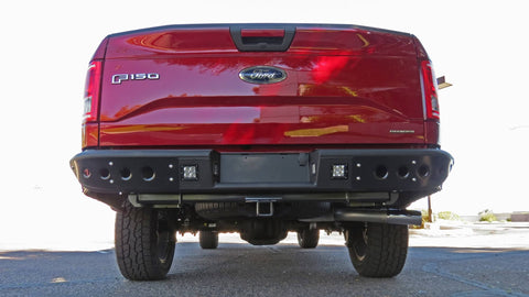 Image of 2015-2018 Ford F-150 Venom Rear Bumper - F-150 Addicts