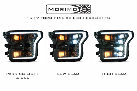 Image of 2015-2017 Ford F150 Morimoto XB LED Headlights - F-150 Addicts
