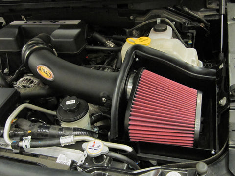 10-14 Ford Raptor V8 6.2L AirRaid Cold Air Intake w/ SynthaMax - F-150 Addicts