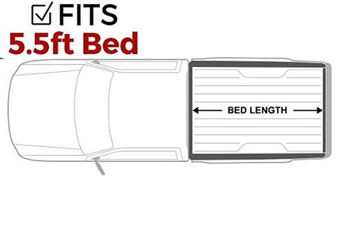 2015-2018 Ford F150 5.5' Bed Gator Recoil Retractable Tonneau Bed Cover - F-150 Addicts