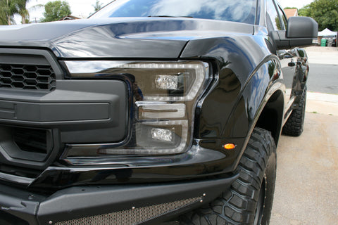 Image of 2018+ Ford F150 Fenders – 4.5″ & 7″ Bulge - F-150 Addicts