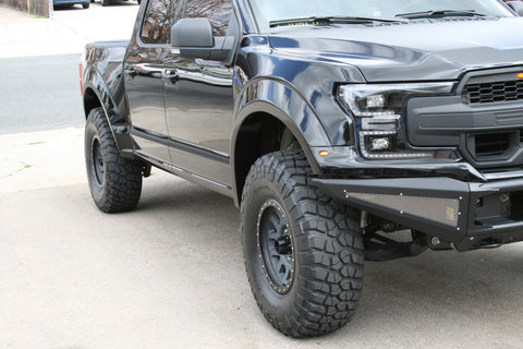 2018+ Ford F150 Fenders – 4.5″ & 7″ Bulge - F-150 Addicts