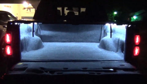 Image of 8 Piece Universal LED Bed Rail Kit - F-150 Addicts