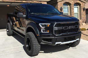 2015-2017 F150 Raptor Style Bolt-On Fender Flares