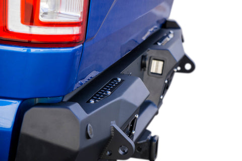 Image of 2015-2018 Ford F-150 Stealth Fighter Rear Bumper w/ Backup Sensors - F-150 Addicts