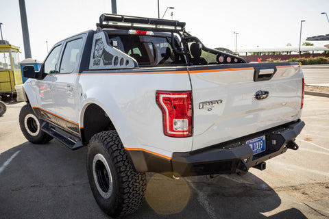 Image of 2015-2018 Ford F 150 Honeybadger Rear Bumper w/ Backup Sensors - F-150 Addicts