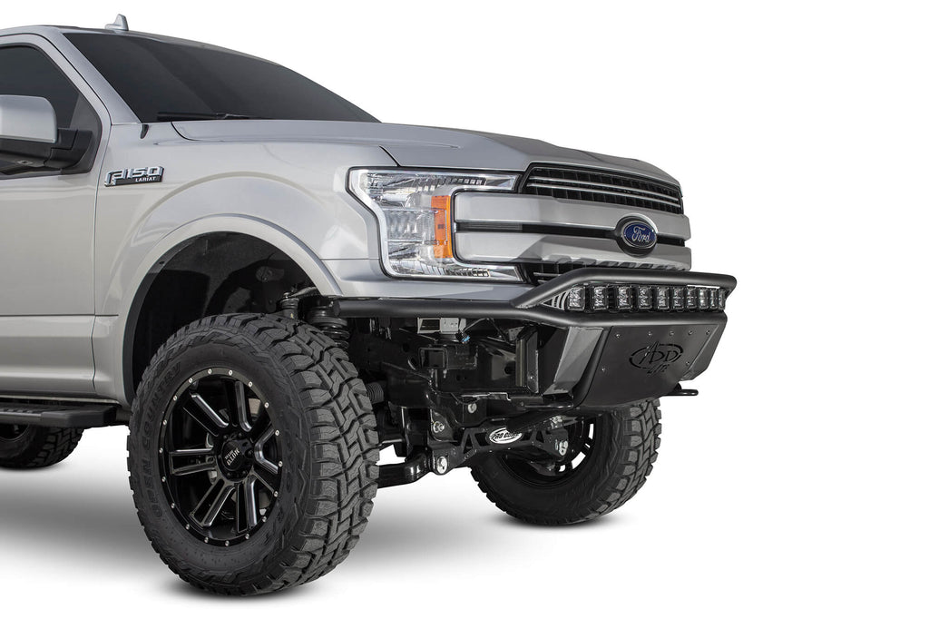2018 Ford F-150 ADD Lite Front Bumper w/ Top Hoop - F-150 Addicts