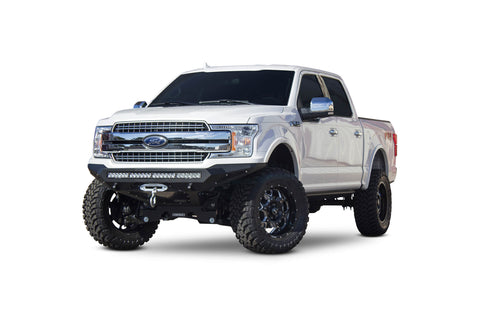 Image of 2018 Ford F-150 Stealth Fighter Winch Front Bumper - F-150 Addicts