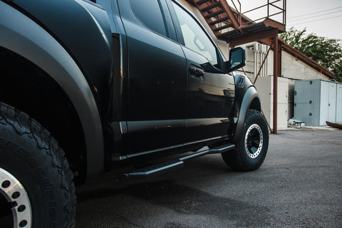 Image of Ford F-Series Stealth Side Steps (2 Door) - F-150 Addicts