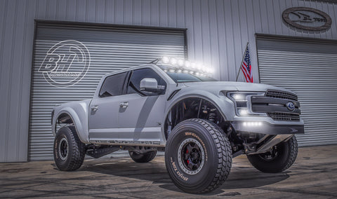 Image of 2018+ Ford F150 Conversion To 2017 Raptor Deberti Front Fenders - F-150 Addicts