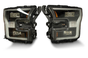 2015-2017 Ford F-150 Blacked Out OEM LED Headlights