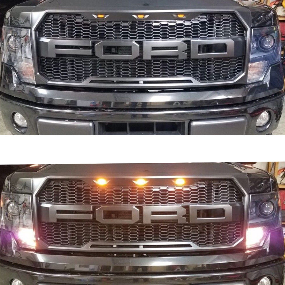 2009 2014 Ford F150 Raptor Style Conversion Grille F 150 Addicts