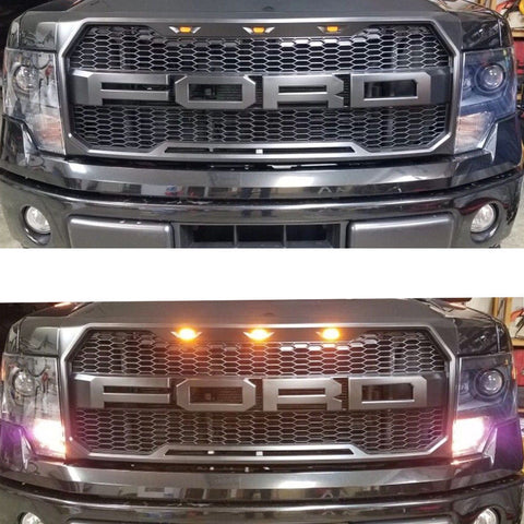 Image of 2009-2014 Ford F150 Raptor Style Conversion Grille - F-150 Addicts