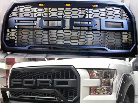 Image of 2015-2017 F150 Raptor Style Grille - F-150 Addicts