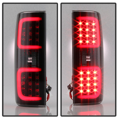 Image of 2009-2014 Ford F150 Black LED Tail Lights - F-150 Addicts