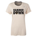 Nike Ladies Hammer Down Tee (Gold)