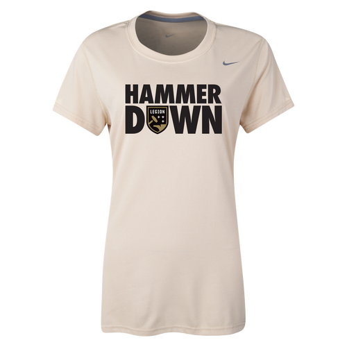 Ladies Legion FC Nike Legend Hammer Down Tee (Gold)
