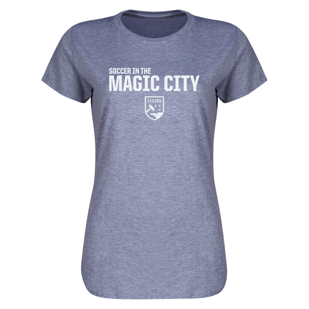 Ladies' Soccer In The Magic City Tee