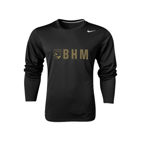 Nike Legion FC Long Sleeve BHM Tee