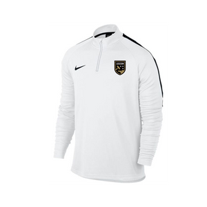 Legion FC Nike White 1/4 Zip Fleece Drill Top
