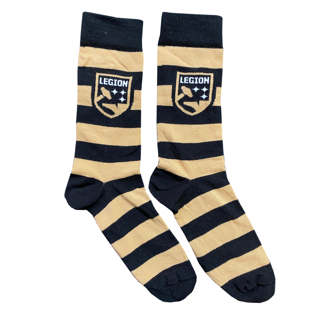 Legion FC Striped Socks