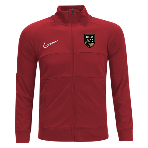 Legion FC Nike Black Full Zip Dri-Fit Track Top (Red)