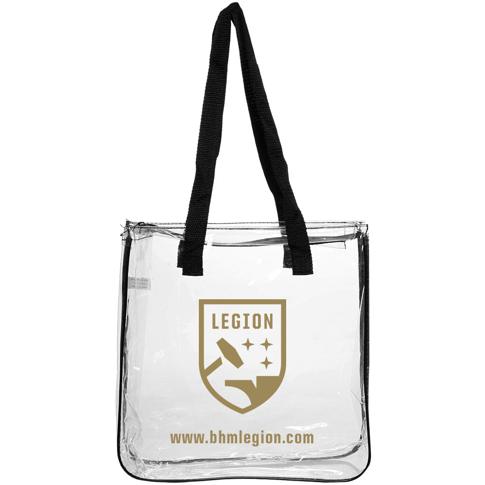 Legion FC Stadium Clear Bag