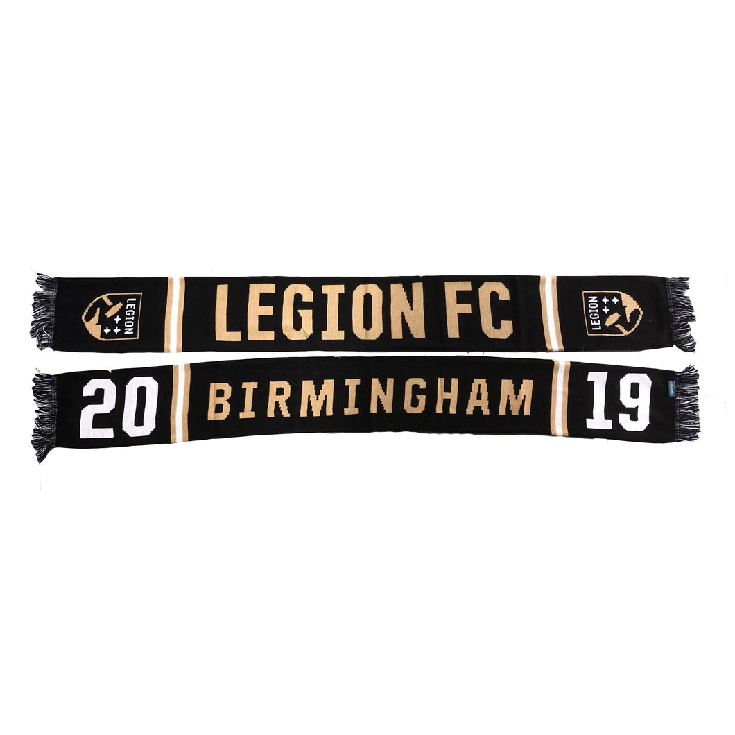 Legion FC Black 2019 Inaugural Season Scarf