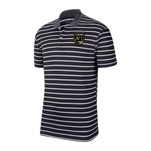 Nike Legion FC Striped Team Polo
