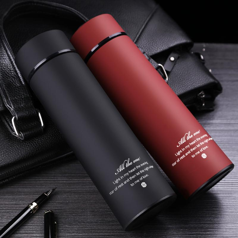Stainless Steel Insulated Thermos Cup With Tea Infuser