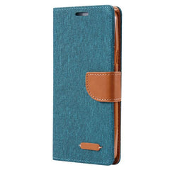 Book Cloth Skin Flip Phone Case For Samsung