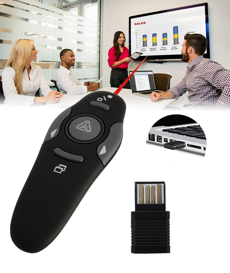 Wireless Presenter with Laser Pointers